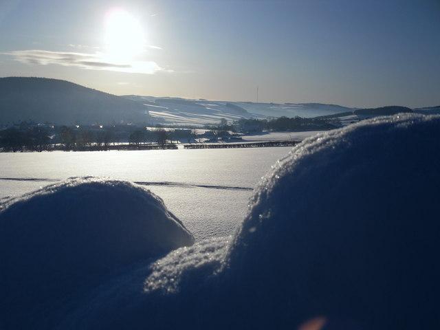Winter on Mossilee Farm