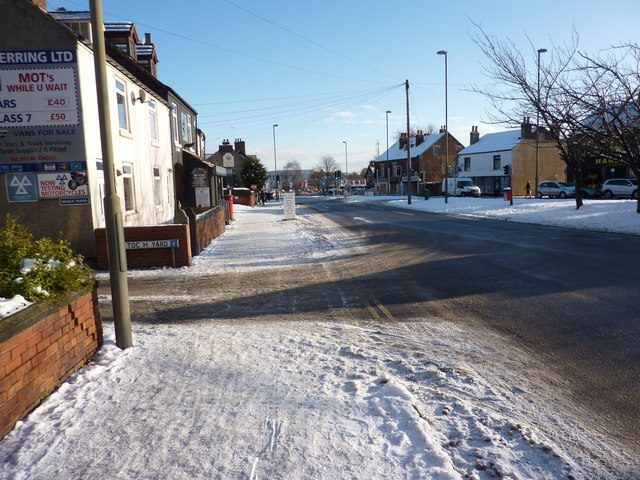 On Chatsworth Road, going towards town, Chesterfield