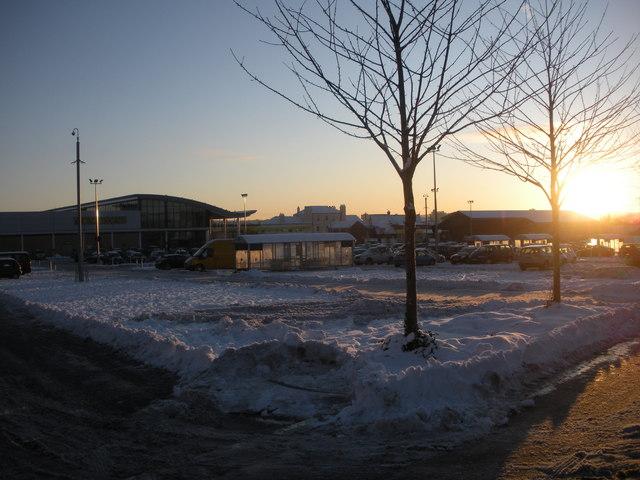 Morrison's car park, Byker