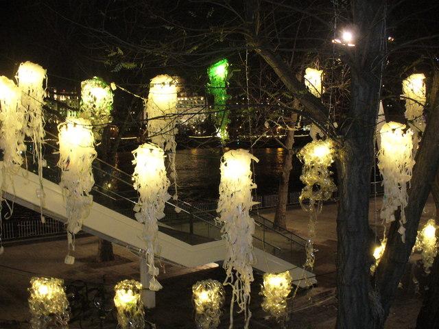 Christmas Illuminations on Queen's Walk