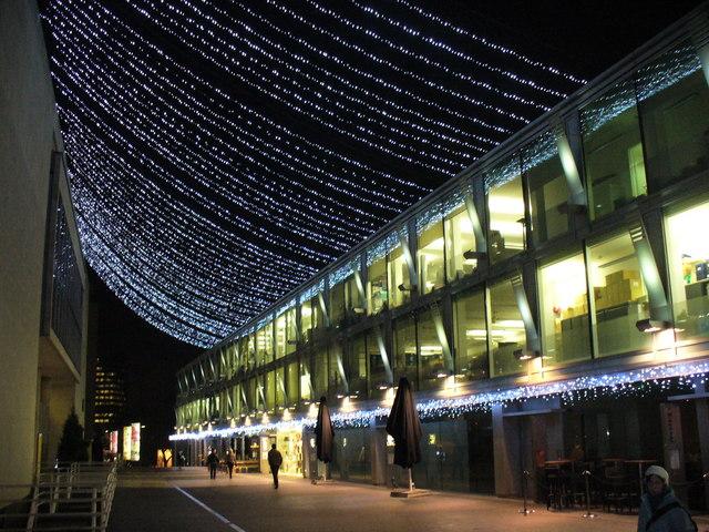 Skylights by the Royal Festival Hall