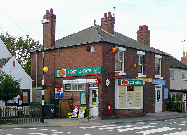 The Post Office at Willington, Derbyshire