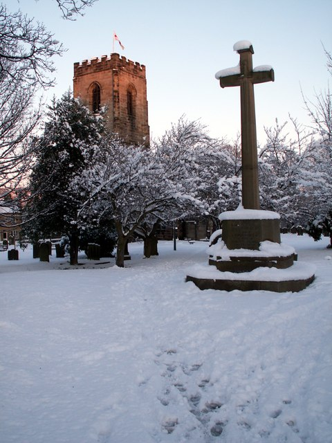 Darton All Saints Church & Memorial Cross