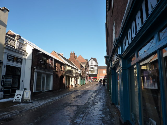 Shops on South Street, Chesterfield