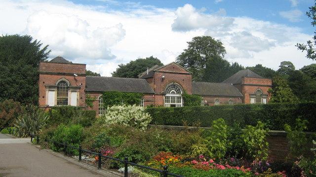 Markeaton Gardens in Markeaton Park, Derby