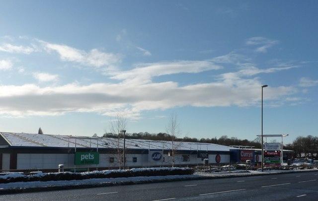 Shopping Centre, Markham Road (A619)