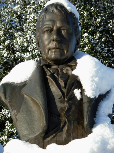 Sir Walter Scott is given the cold shoulder