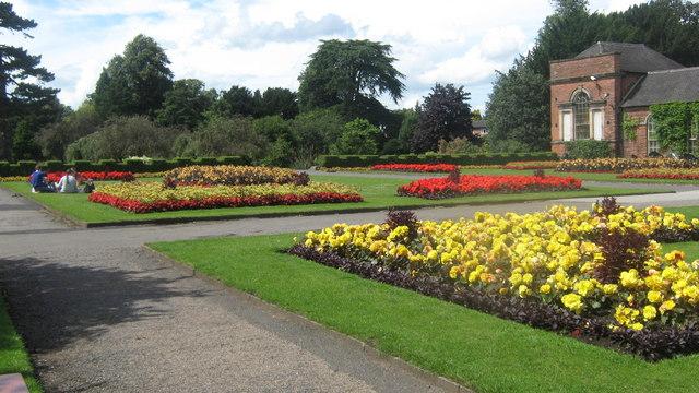 Gardens at Markeaton Park, Derby
