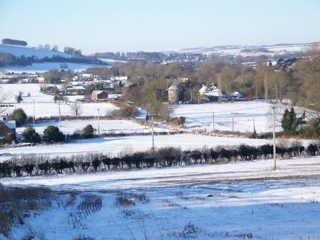 View to Faulston Dovecote