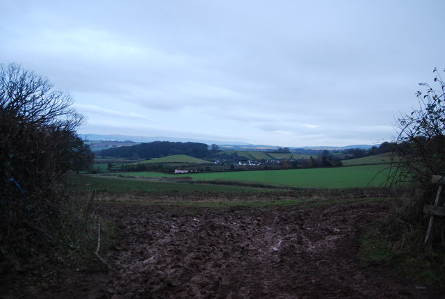View NW from Mill Lane