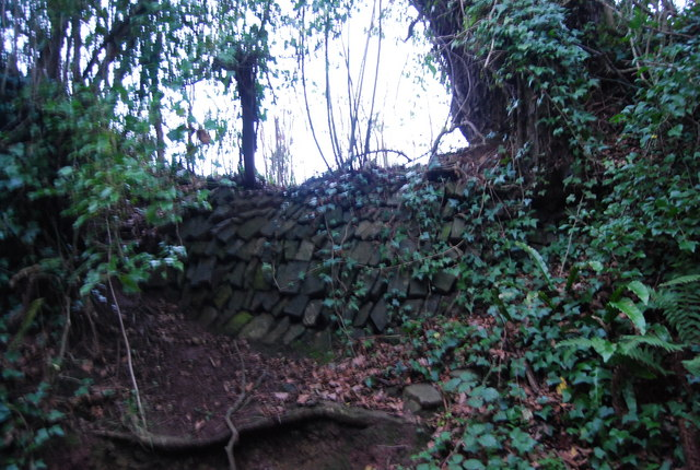 Wall by Mill Lane
