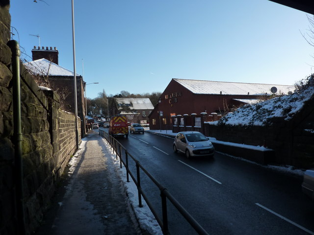 Bottom of Hady Hill, (A632)