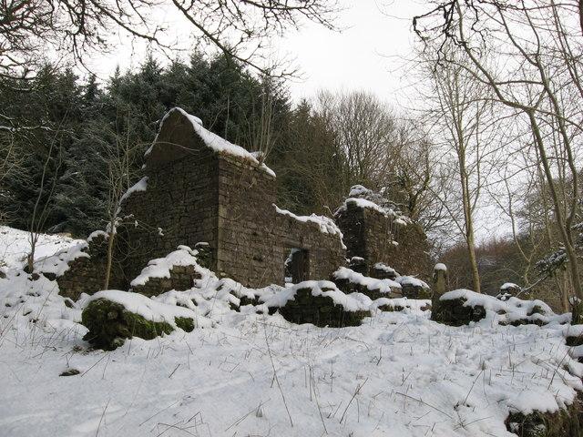 Blaencallan - abandoned farmhouse