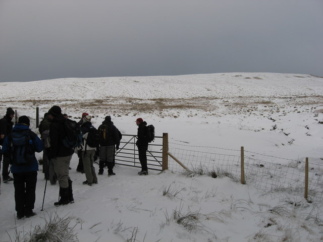 Gateway to open moorland