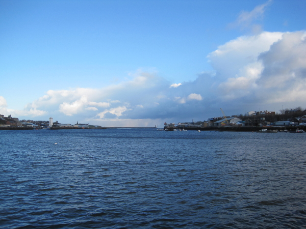 River Tyne from North Shields Ferry Jetty