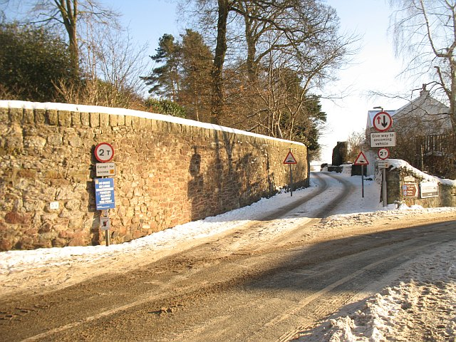 Policy wall, Kinross House