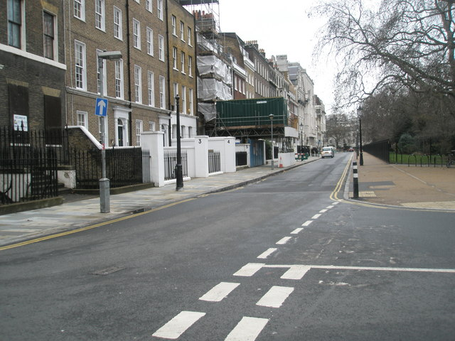 Road junction within Lincoln's inn Fields