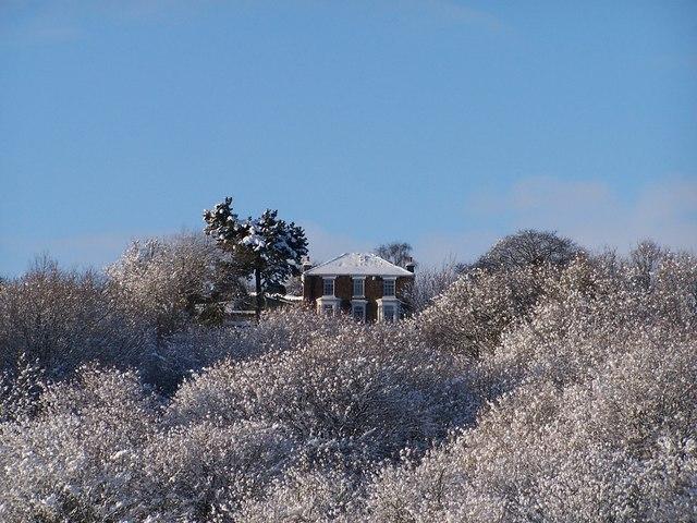 Don House in Winter, Onesacre, near Oughtibridge