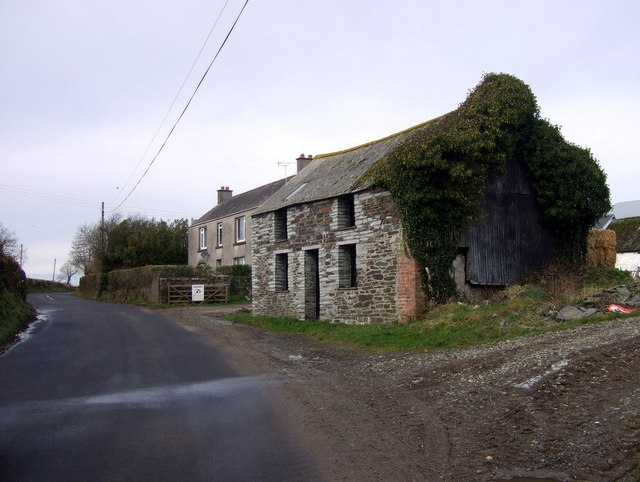 Barnsley Farm, old and new