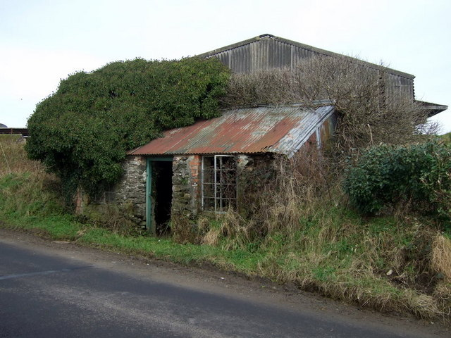 Tiny roadside dwelling near Camrose