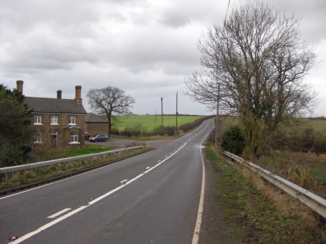 B1211 near Brocklesby Station