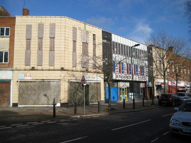 Sudbury: Former Odeon cinema, Allendale Road