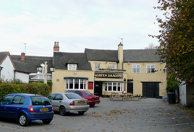 The Green Dragon at Willington, Derbyshire
