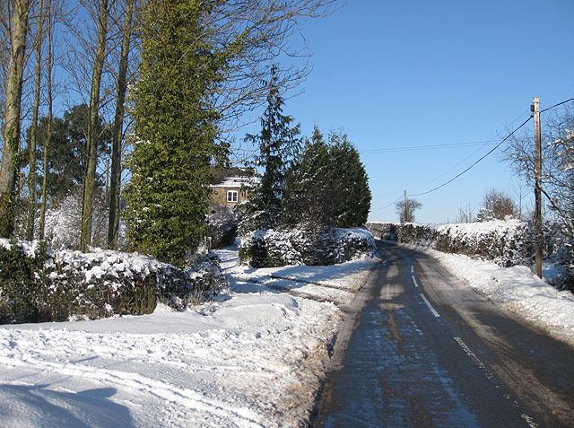 B4224 after snowfall