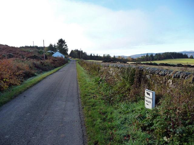 8 miles toTignabruaich