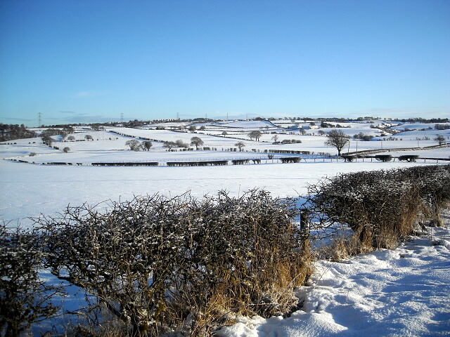 Snowy Fields Near Polnoon