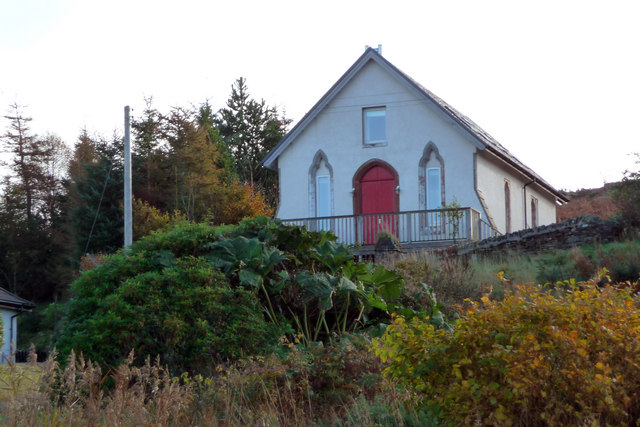 Converted chapel near Otter House