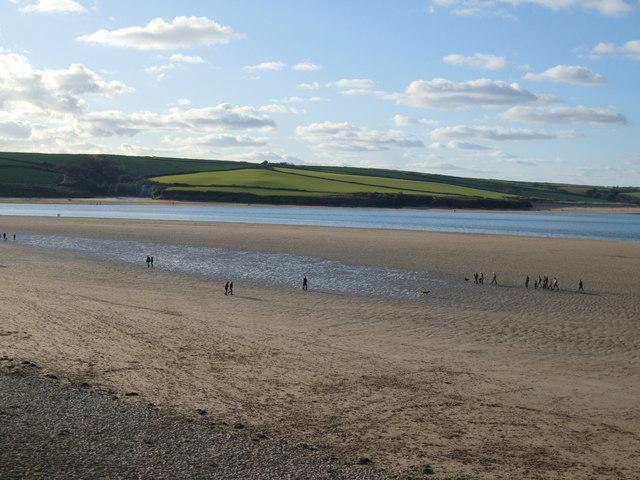 Low tide at Daymer Bay