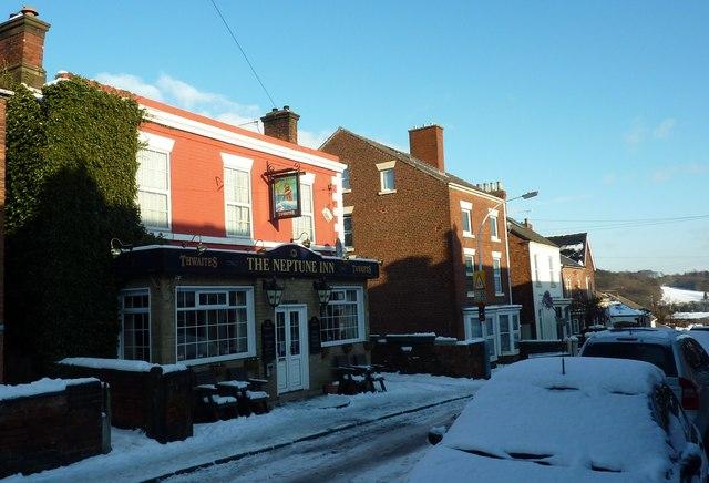 Neptune Inn, St. Helen's Street, Chesterfield