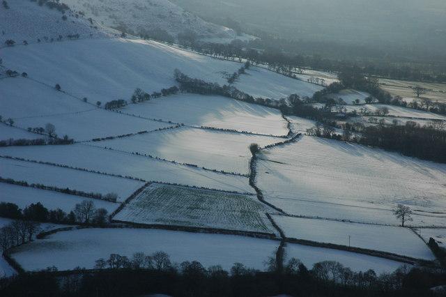 Fields around Gwernyfed
