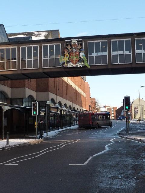 Footbridge over Beetwell Street