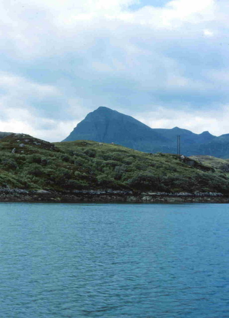 View from the Kylesku Ferry