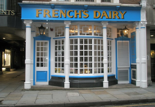 French's Dairy in Chancery Lane