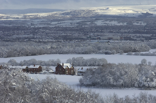 Billinge Hill to Winter Hill