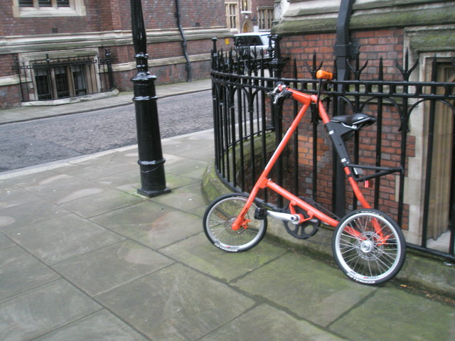 Unusual bike within Lincoln's Inn