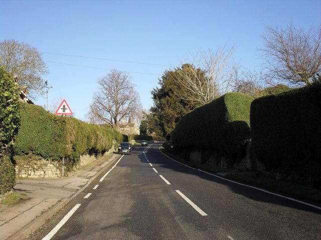 The B4019 through Coleshill