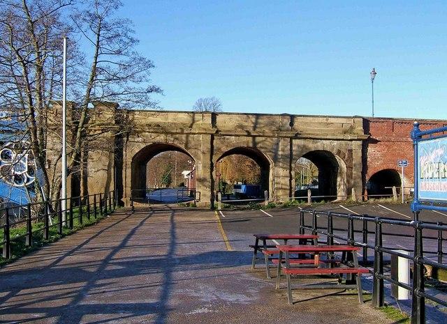 Arches of Stourport Bridge, Stourport-on-Severn