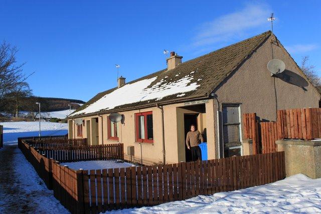 Shaw Park cottages Lochore