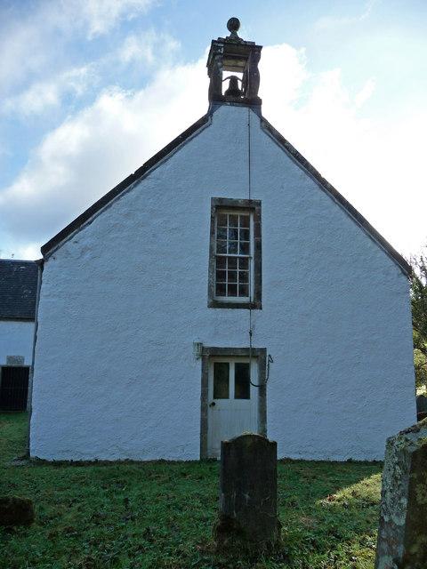 West end of Kilfinan Parish Church