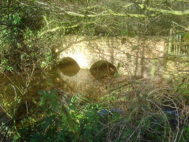 Bridge over the River Leen
