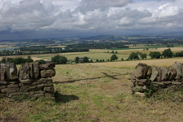 View from High Keillour