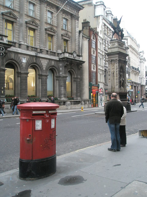 Postbox in The Strand