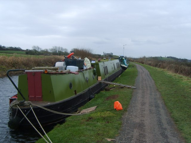 Narrowboats, Lancaster Canal
