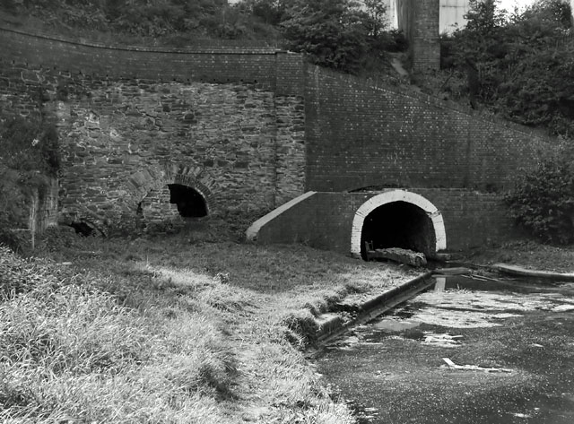 Dudley Tunnel, east end, Summer 1964