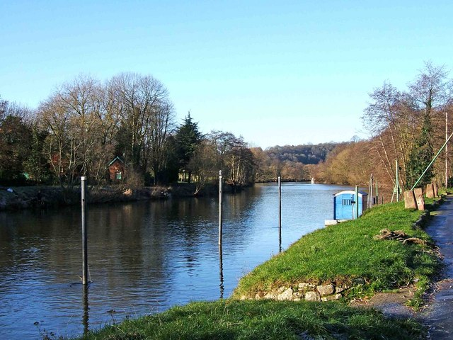 River Severn by Riverside Meadows, Stourport-on-Severn