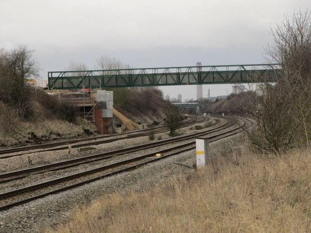 View towards the bridge